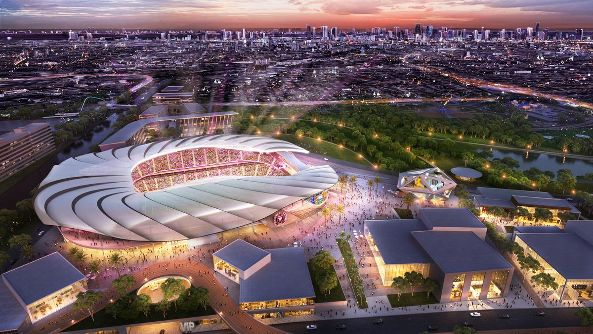 David Beckham S Inter Miami Cf Mls Team Unveils Stadium