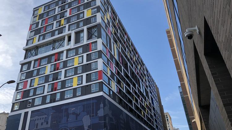 Here's a look inside 225 North Calvert Street's 350-unit apartment
