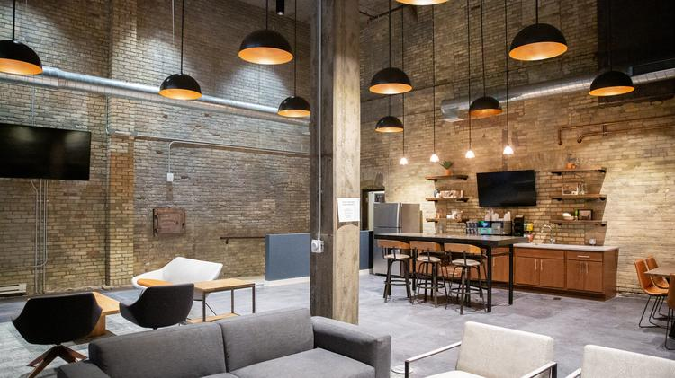 Fantastic Milwaukees Coolest Offices Jp Cullens Office Combines Home Interior And Landscaping Staixmapetitesourisinfo