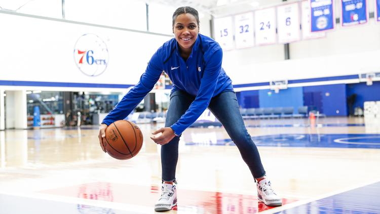 Philadelphia 76ers promote Lindsey Harding to coaching staff