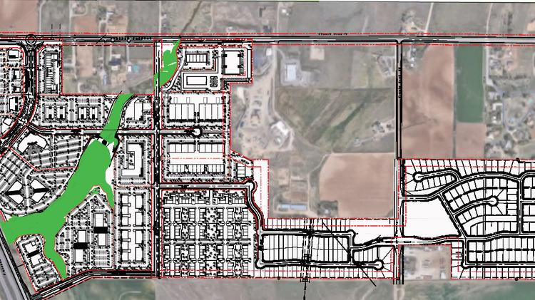 Caliber paid 3.38 million for 266 acres in Colorado, with plans to build 400 homes in Johnstown, north of Denver.