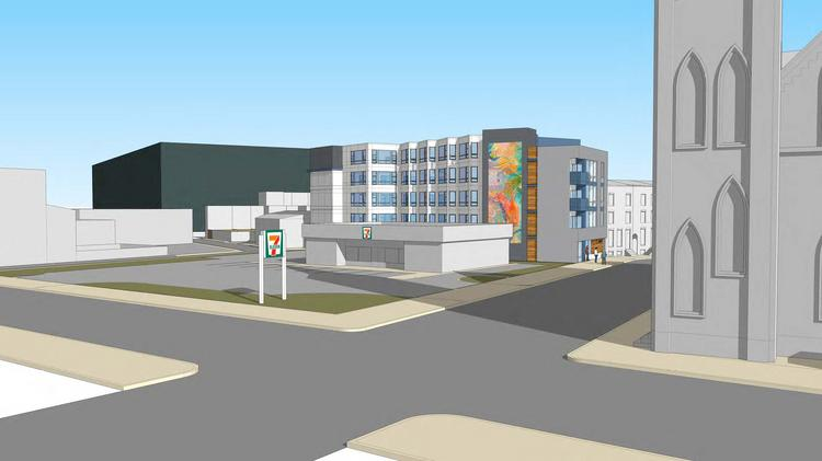 Early Renderings Provide A Look At What The Proposed 33 Unit Apartment Building 115