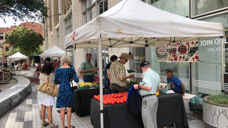 Downtown Raleigh farmers' market shifts location, hours