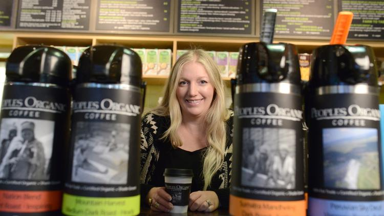 a87b8524a66 Juell Roberts has four Peoples Organic locations throughout the Twin  Cities, and says sales per