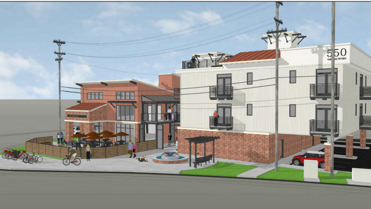 Co Living Key Concept For The Five Fifties Project In West Sac