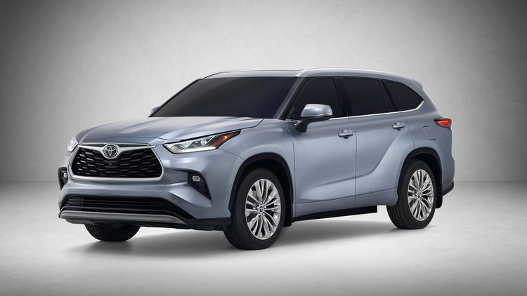 Automotive Minute Completely Redesigned 2020 Toyota Highlander Goes On Tech And Fuel Efficiency Photos