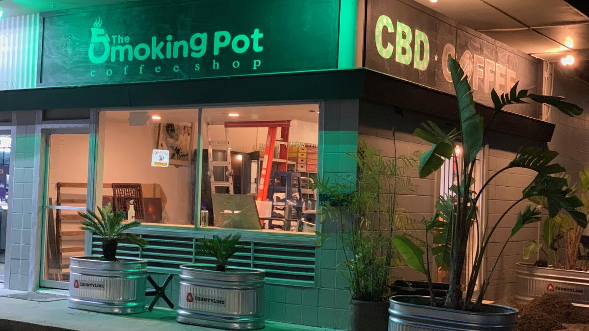 The Smoking Pot Coffee Shop opening in Houston with CBD products - Houston  Business Journal