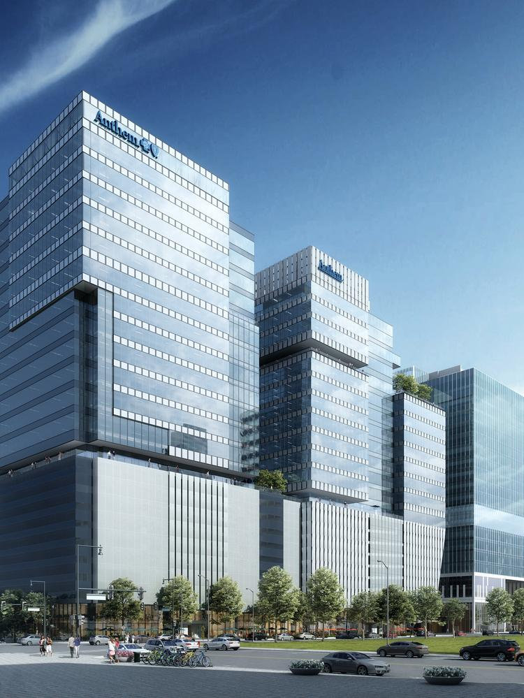 Anthem Inc  expanding into second Tech Square tower, adding