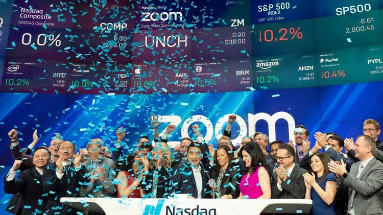 Zoom Video Communications' valuation passes Lyft's, as its stock