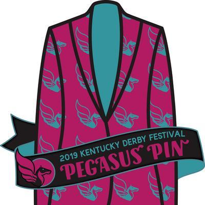 2019 Kentucky Derby Festival Pegasus Pin