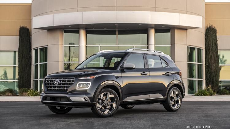 Hyundai Launches New 2020 Venue Subcompact Crossover Atlanta