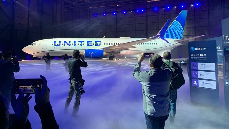 United Airlines Debuts New Design Video The Business Journals