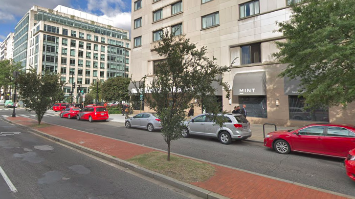 K Street parking lanes would go bye-bye under Bowser proposal
