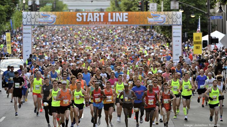 Kentucky Derby Festival Minimarathon Marathon Photos Louisville