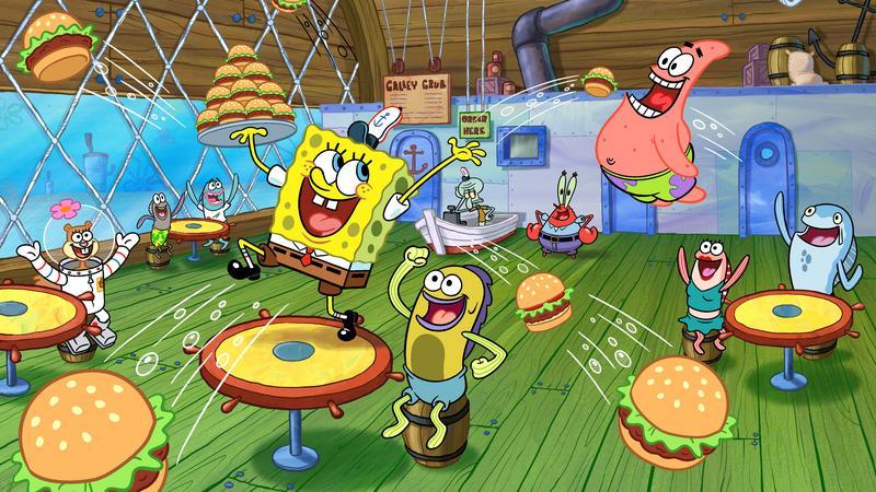 Sandy et SpongeBob Hook up