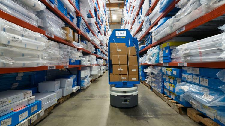 As Amazon invests in automation, Bay Area logistics lag