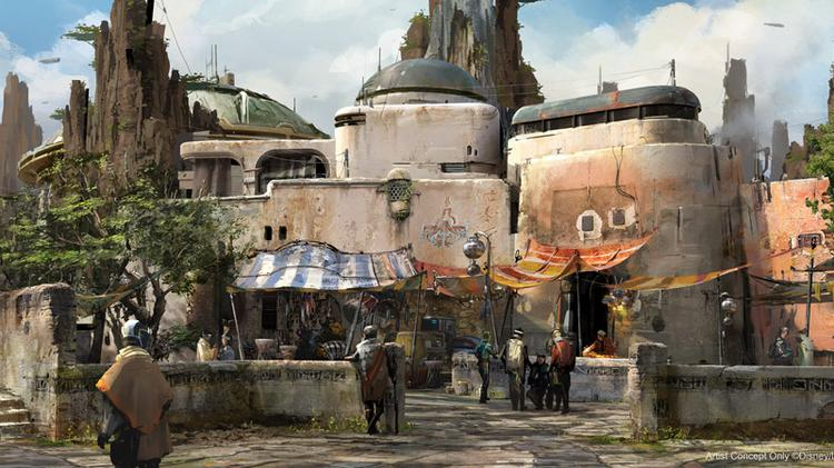 Disney describes Savi's Scrapyard as a hidden workshop where guests will gather to learn more about the Jedi.