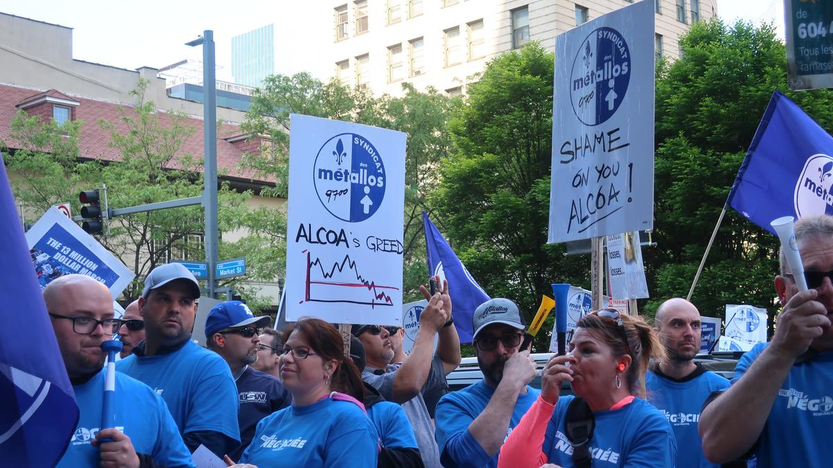 USW members authorize strike against Alcoa - Pittsburgh Business Times