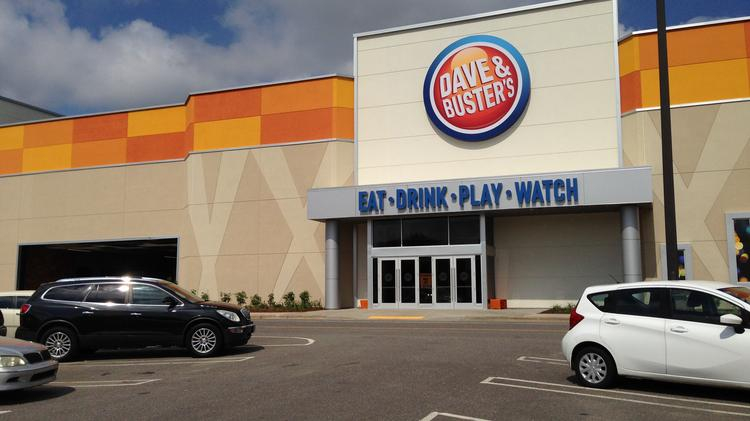 PHOTOS) Dave and Buster's prepares to open in Winston-Salem