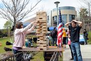 Even a game of Jenga can be used to illustrate the various properties of engineering.