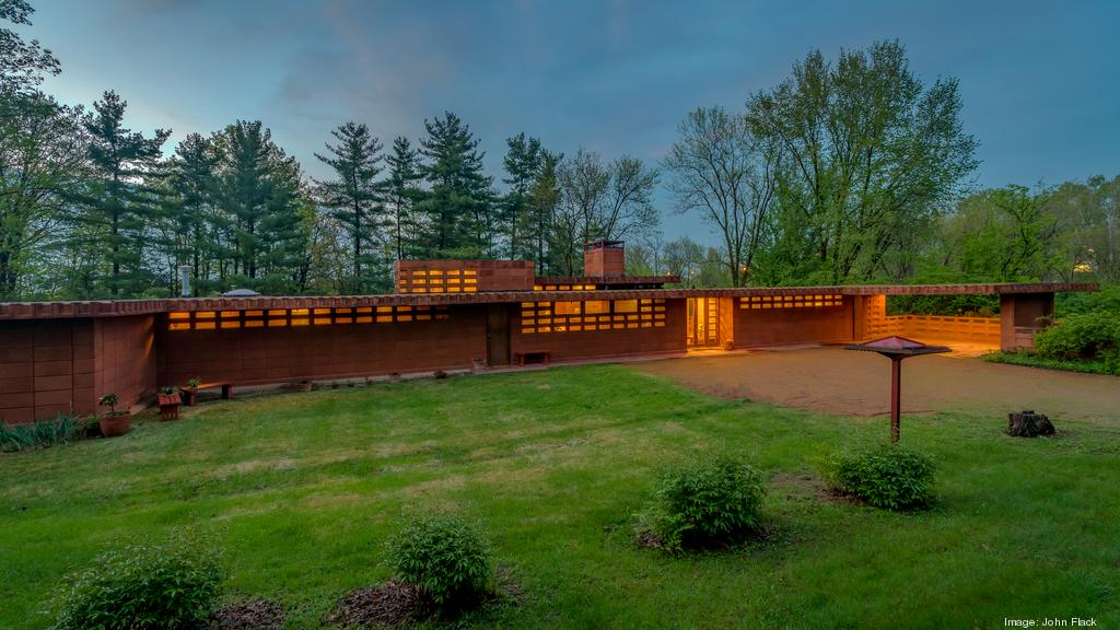 Owners of local Frank Lloyd Wright home pull property off market, 'taking a break' from selling it