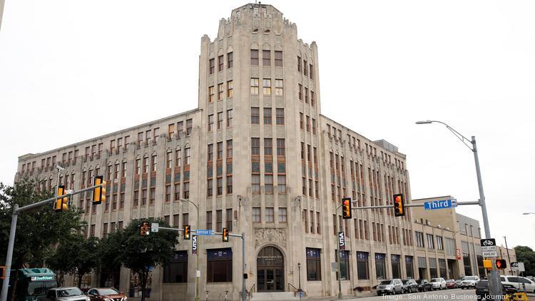 Express-News building hits the market - San Antonio Business