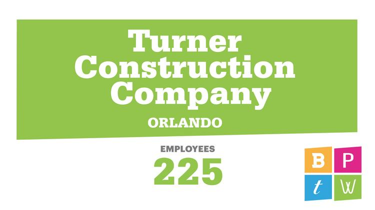 2019 Best Places to Work: Turner Construction pride group
