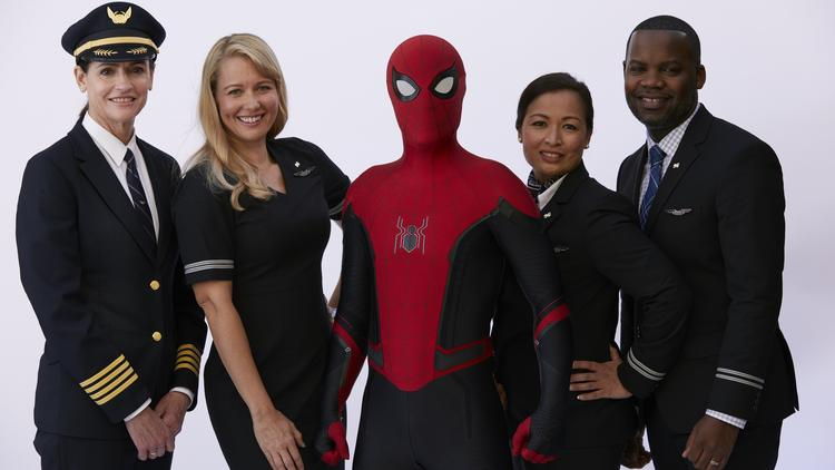 United Airlines' new safety video stars Spider-Man - Chicago