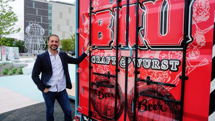Philadelphia Restaurants Bru Craft Wurst Blume Head To