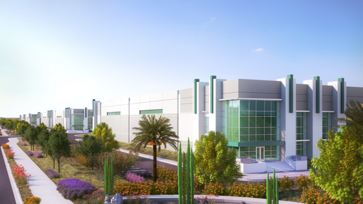 An Artistu0027s Rendering Shows The Planned Prologis Commerce Park At Goodyear,  Which Will Total Nearly