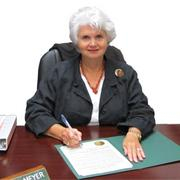 Cuero Mayor Sara Post-Meyer Age: 66 Family: Husband, Alton Meyer;  five children; 10 grandchildren  Education:  B.S., Education,  University of Texas, 1967  Career history:  Teacher in Social Studies Dept. - Government and Economics,  Cuero ISD,1973-2000 Executive Director,  Cuero Chamber of  Commerce, 2000-2005 Elected Mayor,  City of Cuero,  May 2010 and  May 2012