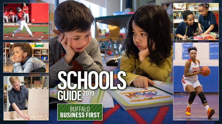 Buffalo Business First School Rankings 2020.Western New York Schools 2019 Buffalo Business First