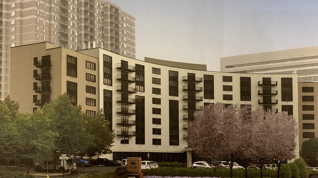 An Arlington hotel could soon become an apartment building instead