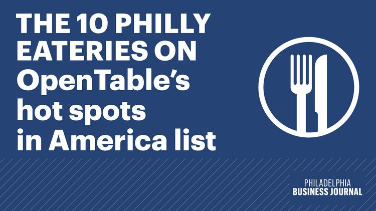 10 Philly Restaurants Named Top Hot Spots In U S By