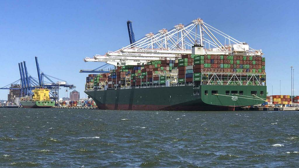 Port of Baltimore welcomes mammoth-sized container ship — its biggest visitor ever