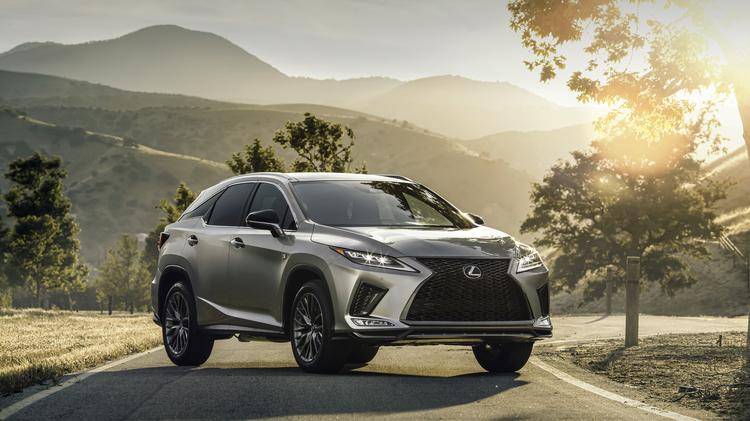 2020 Lexus Rx And Rxl A Slight Refresh Takes This Luxury Suv From