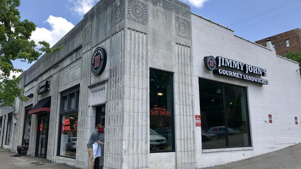 Franchisee reopens Jimmy John's Five Points South location