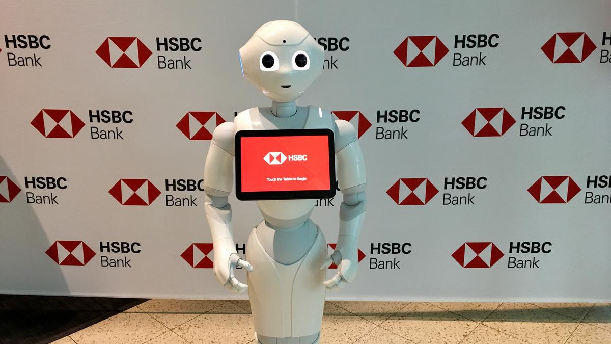 At this Miami HSBC branch, a robot can now answer your banking