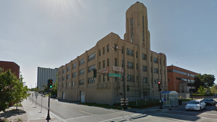 university avenue art deco building sold may become. Black Bedroom Furniture Sets. Home Design Ideas