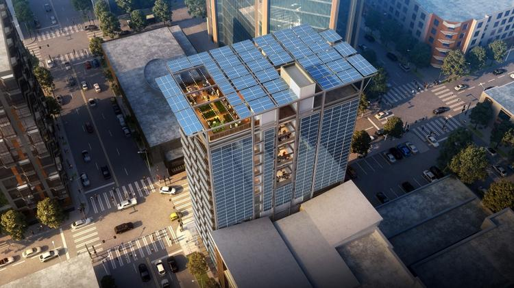 CollinsWoerman subsidiary plans solar-powered Seattle tower