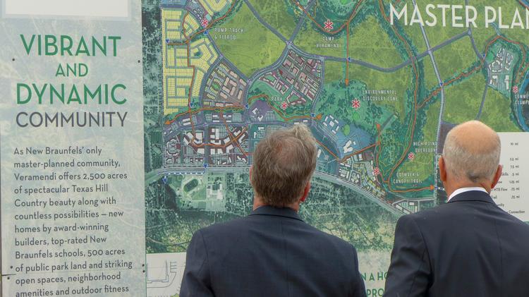 Word Borchers family and ASA Properties start Veramendi in