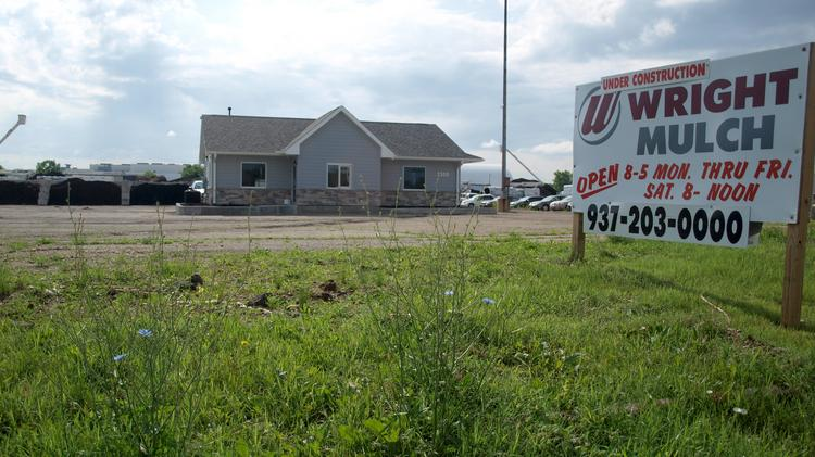 Wright Mulch is opening a new facility in Moraine.