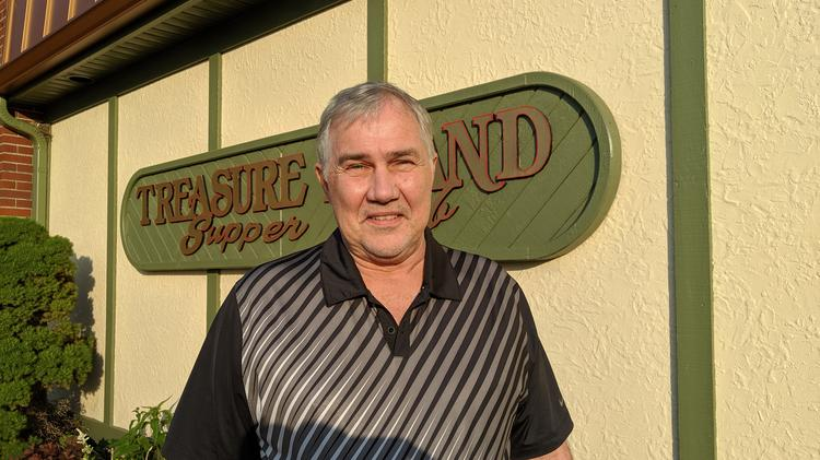 Duane Isaacs is the longtime owner of Treasure Island Supper Club.