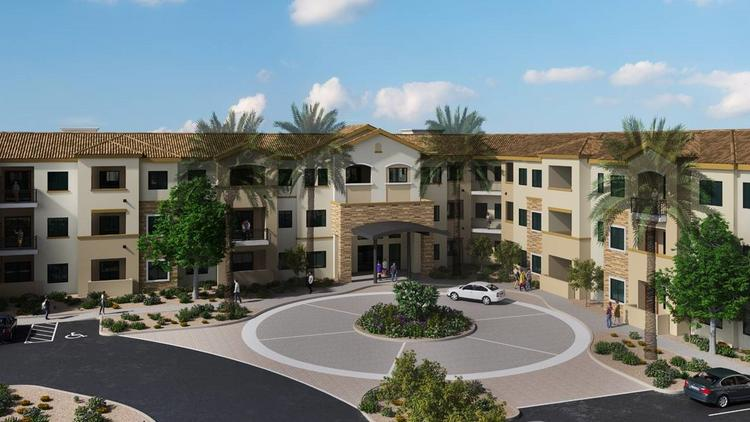 Cadence Living is planning this upscale senior living community in Chandler.