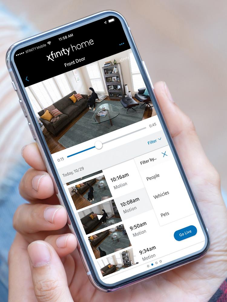 Comcast's 'Pet' projects: Xfinity Home rolls out pet-spying