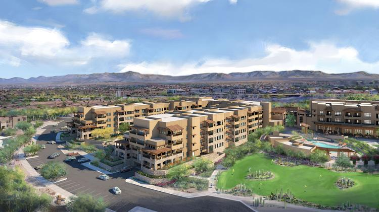A rendering of Phase II of Sagewood in northeast Phoenix.