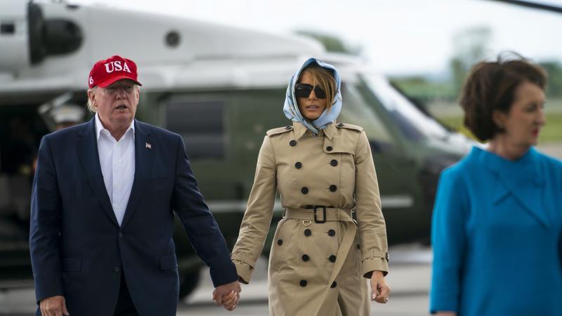 A Closer Look Melania Trump And The Fashion Police Bizwomen