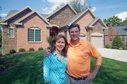 Teri and Kevin Junker bought and knocked down an older split-level to build this home in Montgomery.