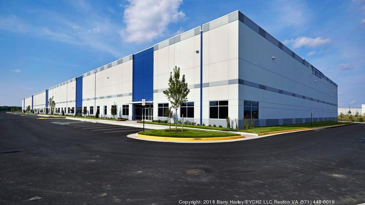 Merritt is building a warehouse in Harford County that will be similar to a facility it built in northern Virginia, pictured above.