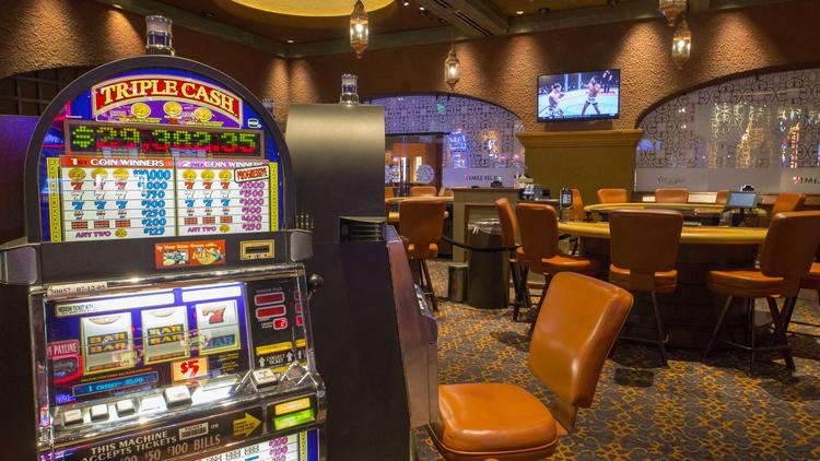 The gaming floor of Argosy Casino Hotel & Spa in Riverside. Last year, Missouri casinos generated $446.5 million in gaming tax revenue.